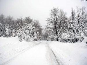 Allerta Meteo Lazio, domani prevista neve sopra i 200 metri