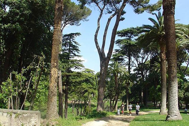 Panorama di Villa Celimontana (Wikipedia).