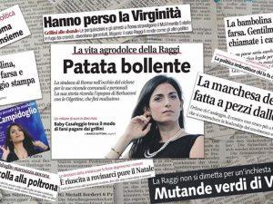 """Virginia Raggi risponde a Libero: """"Insulto volgare, c'è retropensiero che offende uomini e donne"""""""