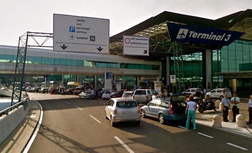 Fiumicino, tunisino cade dalla terrazza del Terminal 3 ...