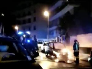 Incendiate nella notte numerose auto ai Parioli: tra loro anche due Car2Go