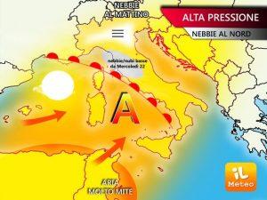 Meteo Roma, bel tempo e clima mite per tutta la settimana. Piove solo venerdì
