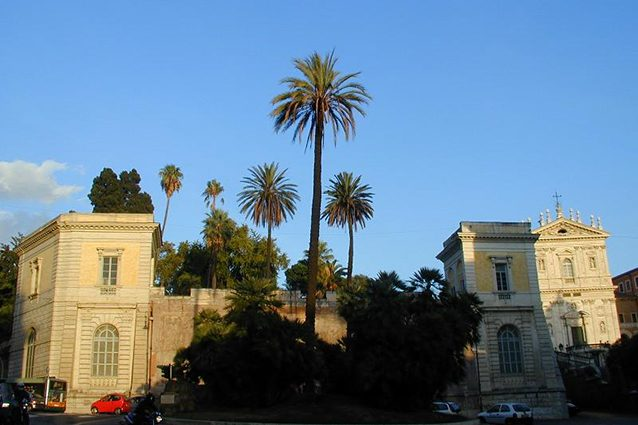 Ingresso di Villa Aldrobrandini a Roma (Wikipedia).