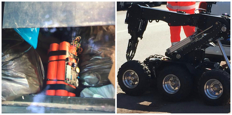 Allarme bomba in via latina in un cassonetto dei - Allarme bomba porta di roma ...