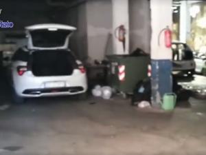 Garage trasformato in una centrale per il riciclaggio di for Garage centrale auto dijon
