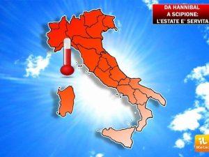 Meteo Roma, dopo Hannibal arriva Scipione: l'estate è subito rovente