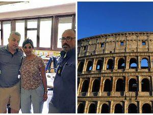 Turisti spagnoli in viaggio di nozze scippati al Colosseo: fermato il malvivente