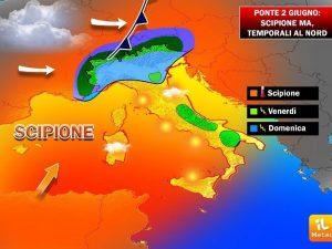 Previsioni meteo Roma ponte 2 giugno: dopo il caldo arriva l'afa