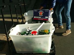 Finale di Coppa Italia: fermato un furgone carico di bevande destinate al commercio abusivo
