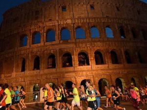 CorriRoma, la prima mezza maratona notturna nel centro della capitale