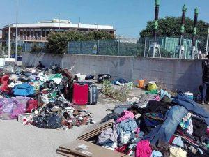 Via Vannina, dopo lo sgombero dello stabile occupato dai migranti è emergenza umanitaria