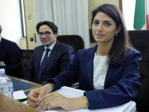 La sindaca di Roma Virginia Raggi in audizione in commissione parlamentare d'inchiesta sulle Periferie – LaPresse