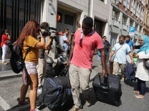 Piazza Indipendenza: sgombero e nessuna soluzione per centinaia di rifugiati eritrei e somali