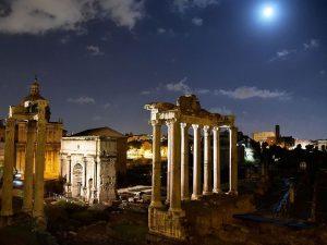 Notte di San Lorenzo al Foro Romano