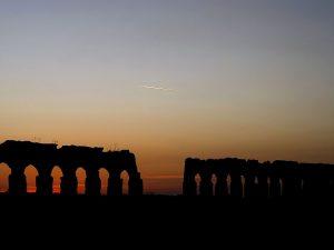 Tramonto sugli acquedotti dell'Antica Roma: modalità di partecipazione