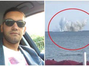 Terracina, cade in mare un caccia dell'aeronautica: ritrovato il corpo del capitano Orlandi