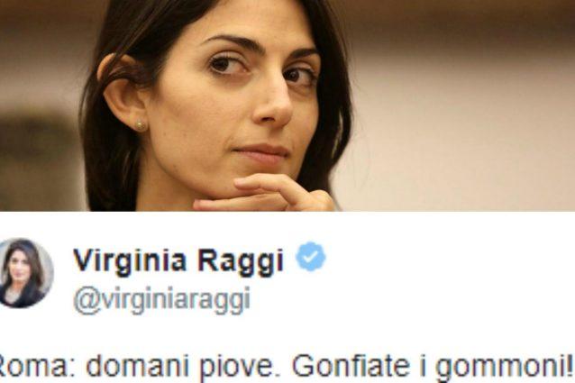 """Quando la sindaca Raggi prendeva in giro Marino: """"Domani piove, gonfiate i gommoni"""""""