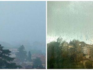 Piove (davvero) dopo 100 giorni sulla capitale: nubifragio accolto con entusiasmo dai romani