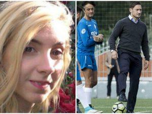 """Totti dà il calcio di inizio alla partita per Sara Di Pietrantonio: """"Perché non accada mai più"""""""