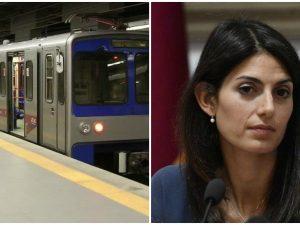 Virginia Raggi incontra il ministro Delrio: investimenti per nuovi treni per Metro A e B