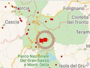Terremoto ad Amatrice magnitudo 4.2. Sisma sentito anche a Roma