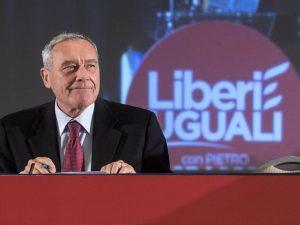 Grasso oggi a Roma all'assemblea di LeU per far passare l'appoggio a Zingaretti