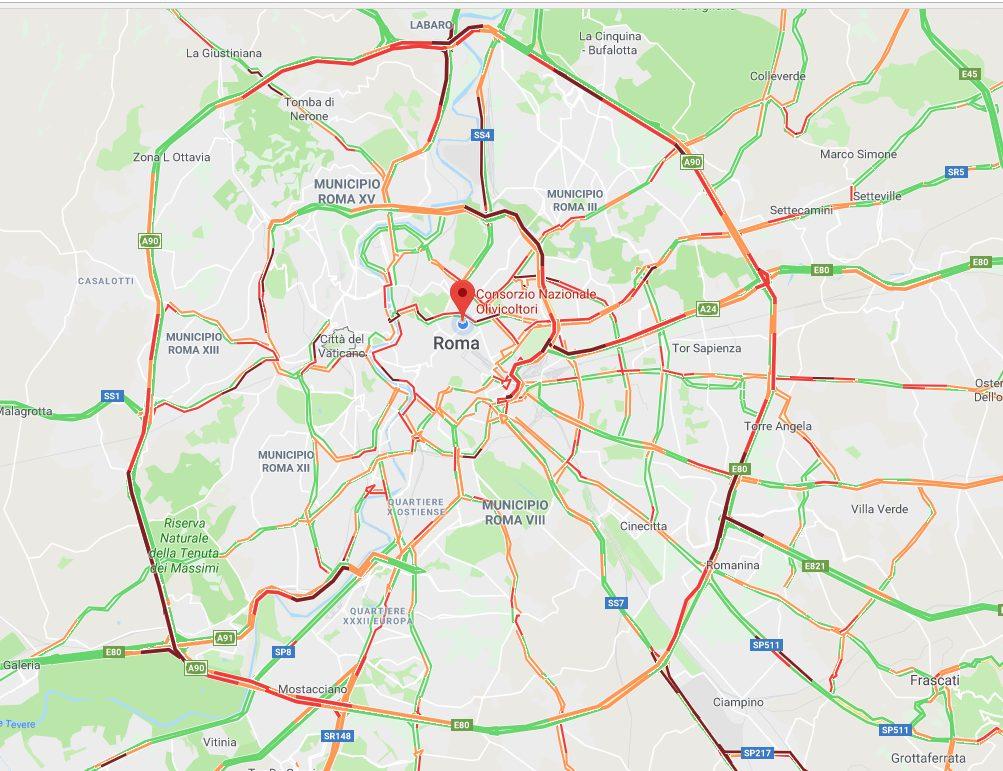Foto Google Maps, schermata delle ore 10