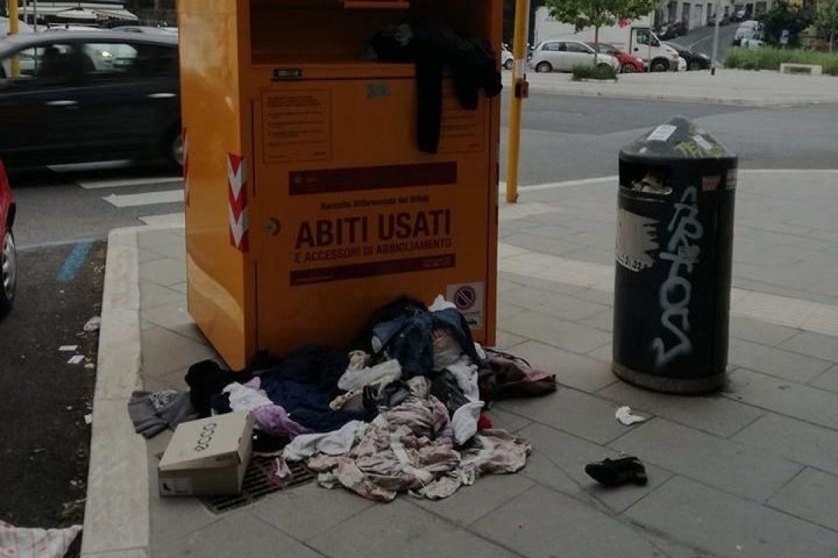 best website bee6d 428ae A Roma sono tornati i cassonetti gialli per gli abiti usati ...