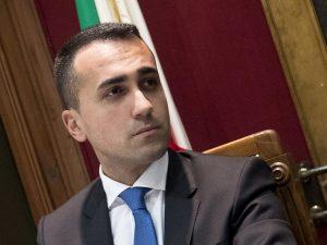 Il vicepresidente del Consiglio Luigi Di Maio (M5s)