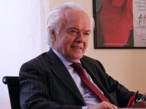 Il professor Franco Mandelli, scomparso ieri all'età di 87 anni