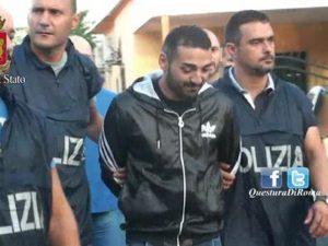 L'arresto nel 2015 di Salvatore Casamonica per tentata estorsione