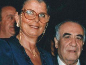 La moglie di Franco Sensi Maria Nanni