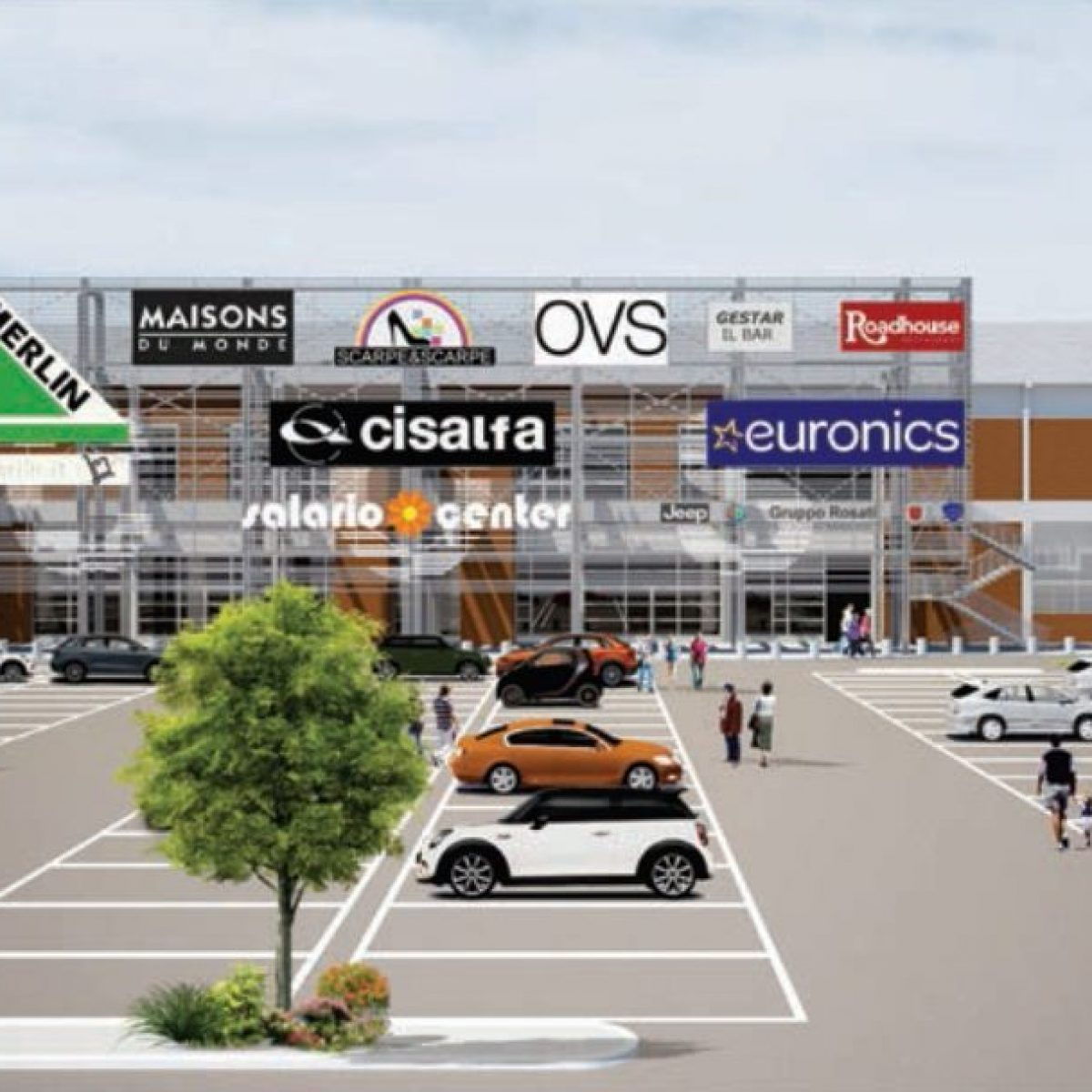 lusso il più economico scopri le ultime tendenze Salario Center: apre oggi un nuovo centro commerciale a Roma