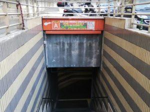 Metro Baldo degli Ubaldi |  riaperte tutte le scale mobili e gli ingressi in stazione