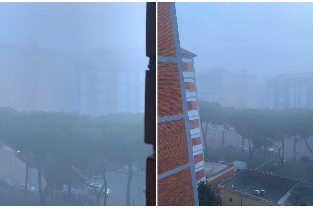 Nebbia a Roma, la capitale si sveglia immersa nelle nubi: vi