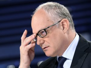 Roberto Gualtieri è il candidato del centrosinistra alle elezioni di Roma del primo marzo