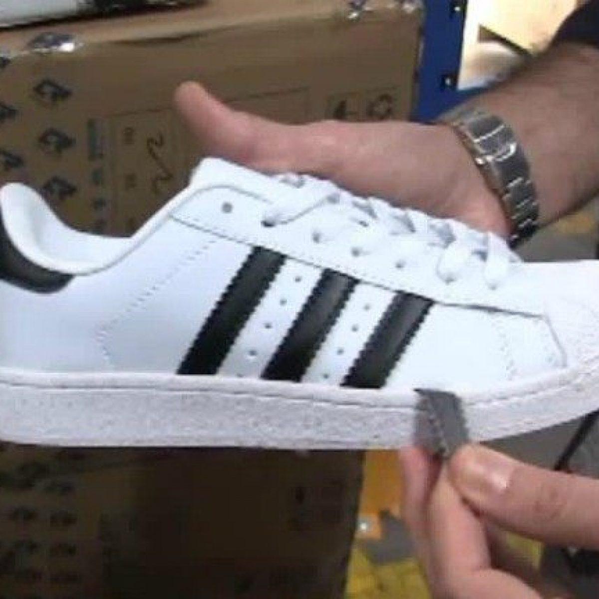 Porto Brindisi, GdF sequestra 7mila scarpe Adidas