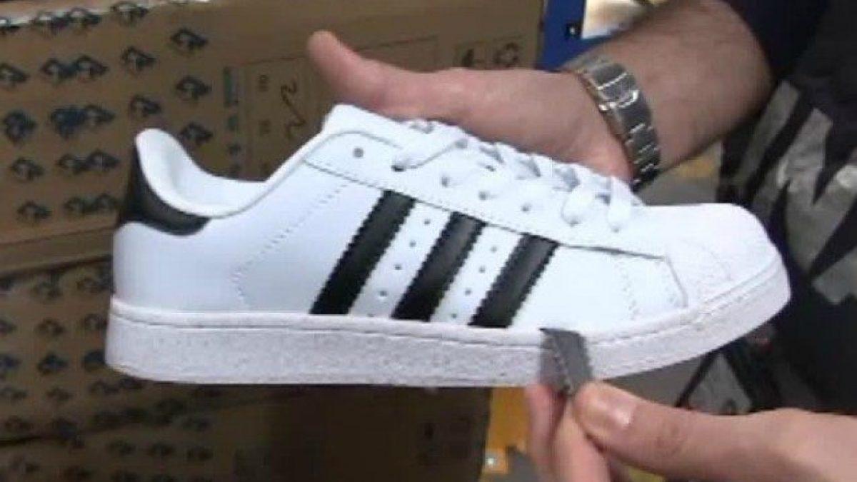 Fiumicino, sequestrate 280.000 scarpe Nike e Adidas tarocche