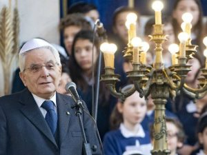 """Il presidente Mattarella ai bimbi delle scuole ebraiche: """"Po"""