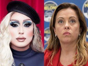 """La drag queen Paola risponde a Meloni: """"Per bimbi siamo fati"""