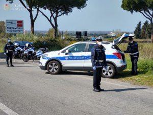 Solo ieri più di 14mila automobili controllate a Roma dai vi