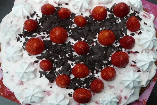 Torta a forma di cuore il dolce di san valentino for Isola cucina a forma di torta