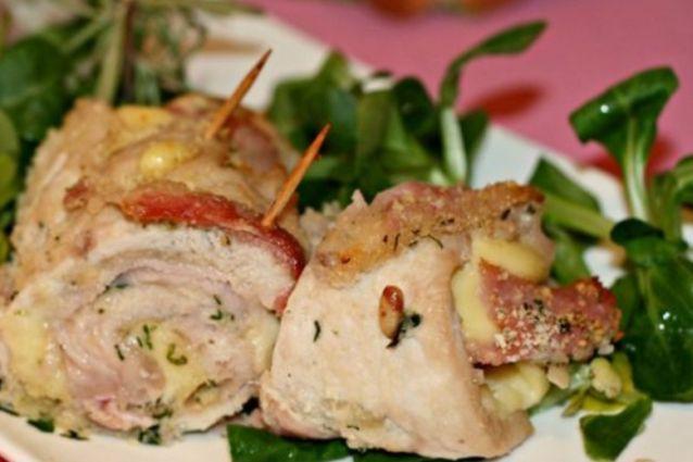 Involtini di pollo la ricetta al forno e in padella for Cucinare carote