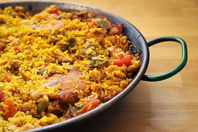 Paella valenciana la ricetta originale spagnola for Ricette spagnole