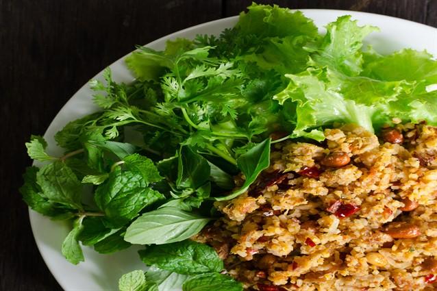 insalata di farro con tonno e fagioli