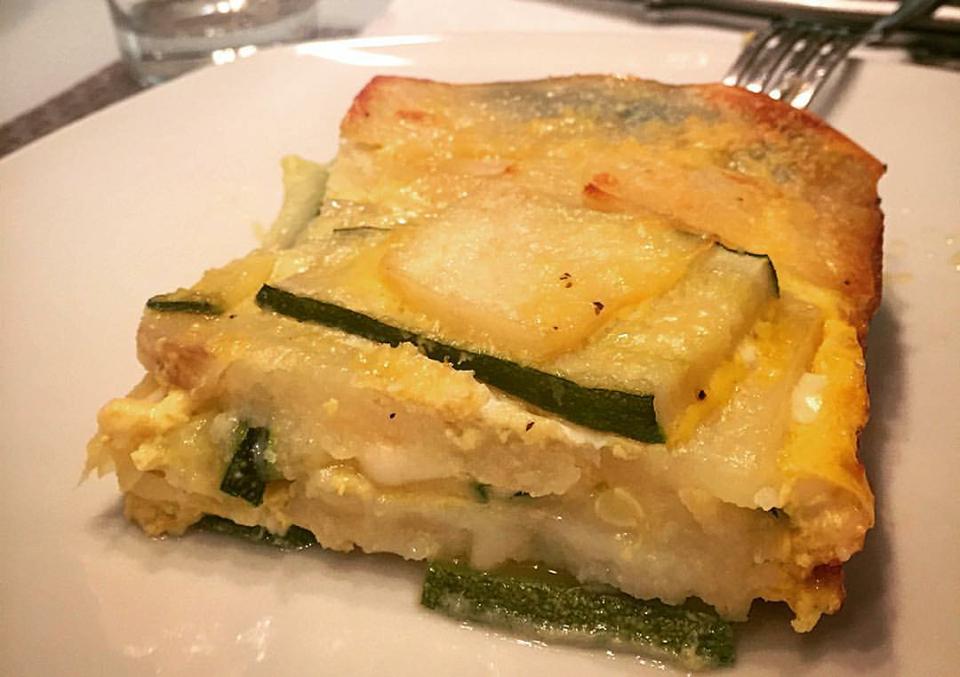 parmigiana di zucchine e patate la ricetta per prepararla