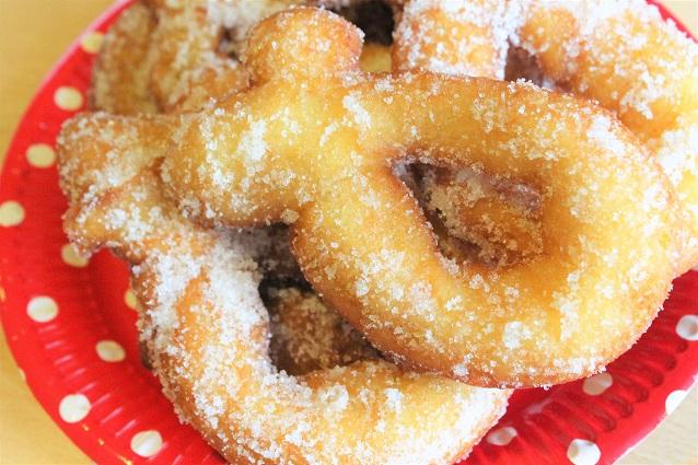 Ricetta delle ciambelle dolci fritte