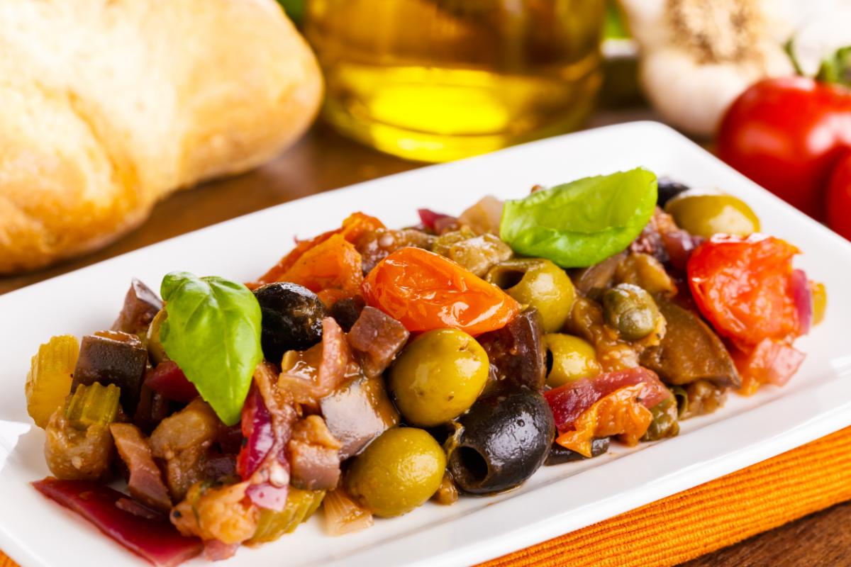 Caponata la ricetta del contorno di verdure irresistibile - Contorno di immagini di frutta ...