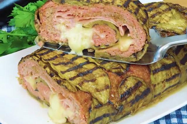 Roll di carne e melanzane la ricetta del secondo piatto - Secondi piatti da cucinare in anticipo ...