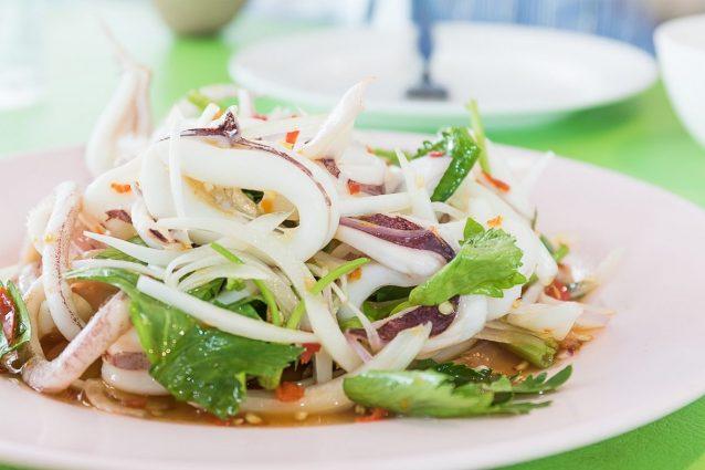 Insalata di calamari la ricetta dell 39 antipasto freddo for Cucinare estate